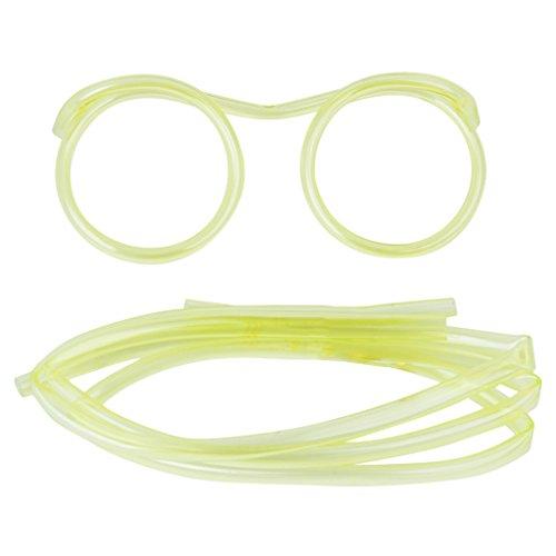 Lustige Brille Stroh Kinder Partei Gefallen DIY Verrückt -
