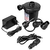 Ociodual Elektrische Inflator Elektrische Pumpen Kompression AC Wand und Auto KFZ Schwarz