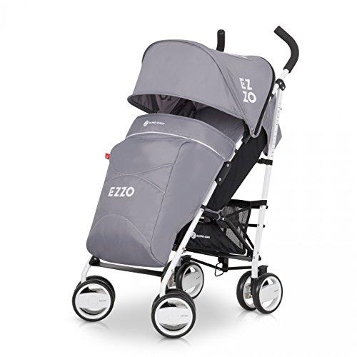 Buggy Sport Kinderwagen EZZO Graphite mit Liegefunktion zusammenklappbar – Baby ab 6. Monate