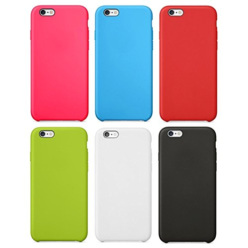 GHC Cases & Covers, Anti-Rutsch-mattierter TPU-Koffer für iPhone 6 Plus & 6S Plus ( Color : Green ) Red