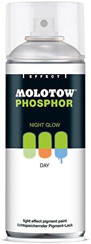 PHOSPHOR Spray 400ml MOLOTOW Lichtspeichernder Pigment-Lack Night Glow Effect