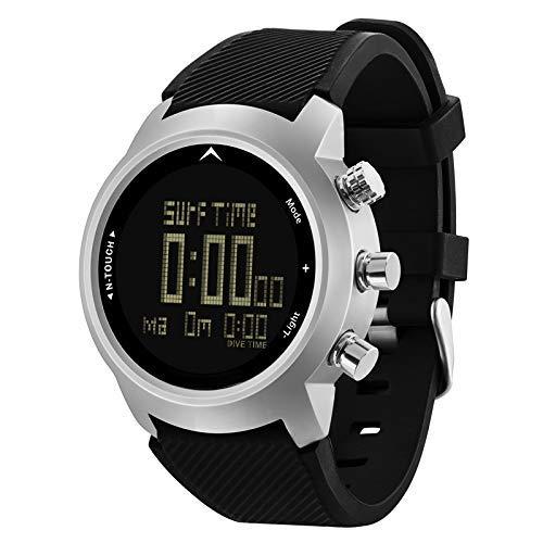 Tincocen Herren Taucher Uhr Wasserfest 100 M Smart Digitaluhr Sport Kompass für Tauchen
