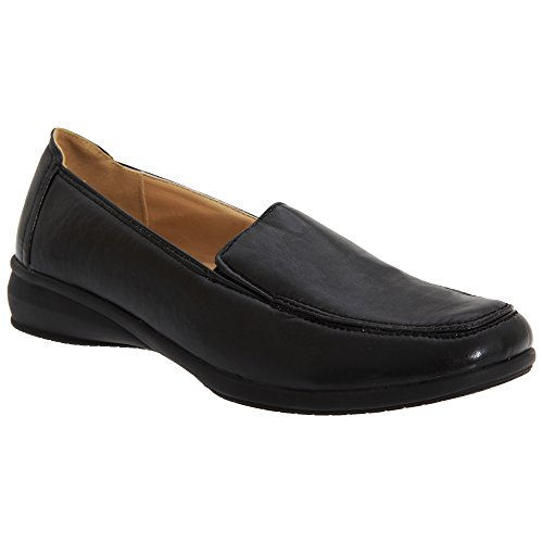 Boulevard - Chaussures Décontractées En Cuir - Marine Femme