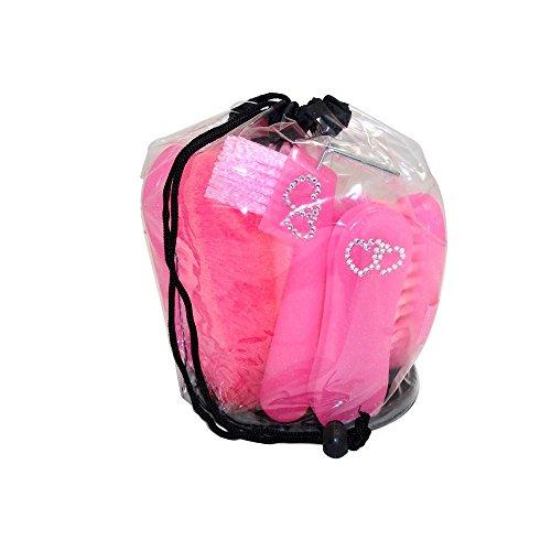 Bitz Glitter Pflege-Set für Pferde (Einheitsgröße) (Pink) (Pferde-pflege-set)