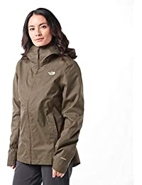 The North Face W Tanken Triclimate, Giacca Impermeabile Donna, Verde (New Taupe Green), M