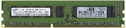 Hewlett Packard Dimm-speicher (Hewlett Packard Enterprise 2GB DDR32GB DDR31333MHz–PC-Speicher/RAM (DDR3, PC/server, 240-Pin DIMM, 1x 2GB, Grün))