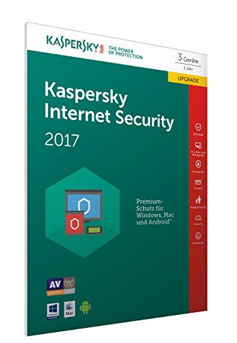 Kaspersky Internet Security 2017 3 Geräte - Upg...