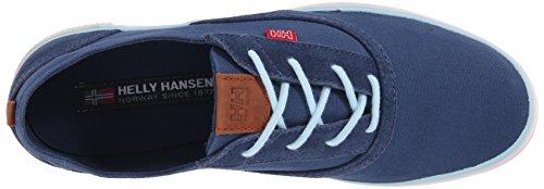 Helly Hansen W Karlshavn, Chaussures de Sport Femme Gris / Bleu (576 Deep Steel / Light Aqua)