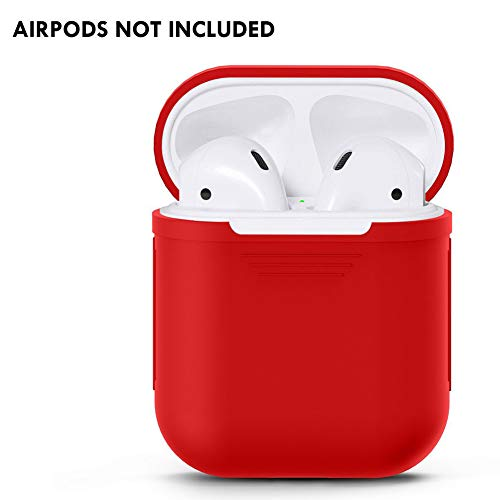 Adeeing Full Protective Case for Apple Airpods,Silicone Waterproof & Dustproof & Unbreak Bluetooth Headsets Earbuds