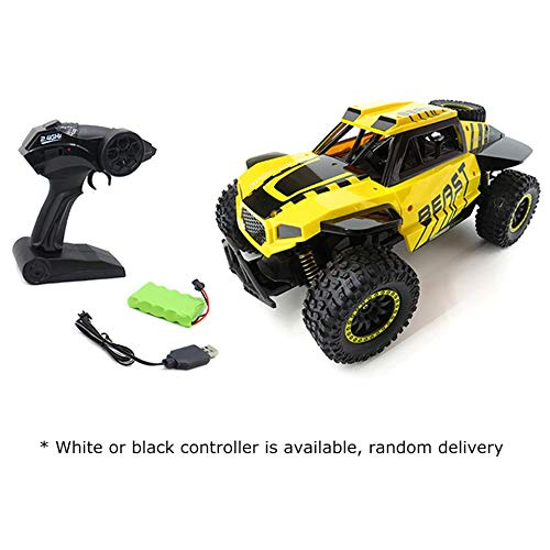 ARDUTE Flytec SL-146A1/18 Scale 2.4Ghz 4WD 30km/h High Speed RC Crawler Climber Buggy Off-Road Rock RC Remote Control Car RTR (Wheels Batterie 6 Power Volt)