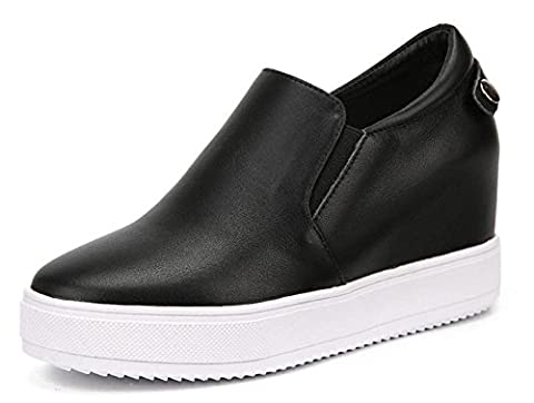 YTTY Leather Shoes,black,39