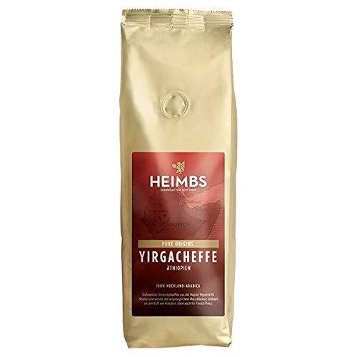 3 Stück HEIMBS Äthiopien Yirgacheffe GANZE BOHNEN Hochlandkaffee 3 x 250 gramm