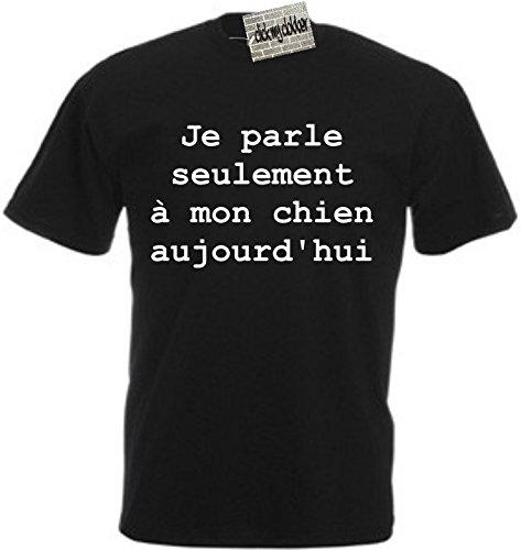 je-parle-seulement-a-mon-chien-aujourdhui-t-shirt