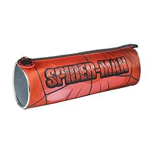 Spider-Man- Spiderman Estuches portatodo y portaflautas, Multicolor, 70 cm (ARTESANIA CERDA CD-21-2138)