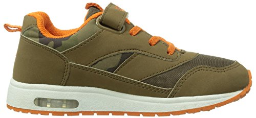 Lico Cool VS Blinky Jungen Sneakers Braun (braun/orange)