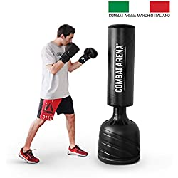 Combat Arena Training Pro Sacco a Terra. da Fit Boxe. Regolabile in 4 altezze