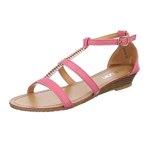 Damen Schuhe, FC16-A29, SANDALEN LEICHTE Rosa