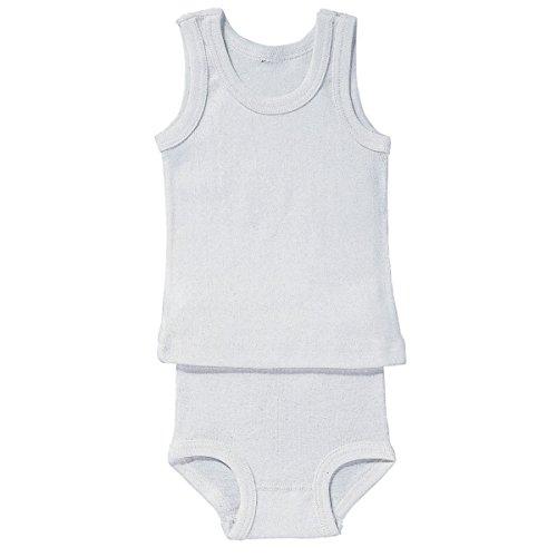 BORNINO Unterhemd Baby-Unterwäsche, Größe 74/80, weiß