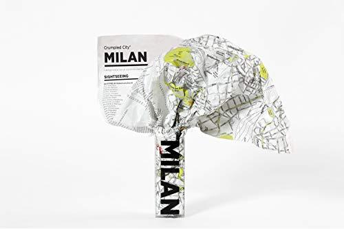 Milan Crumpled City Map (Crumpled City Maps)