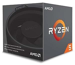 AMD Ryzen 52600x 6-Core 19MB Cache 95W Wraith spire Cooler–nero