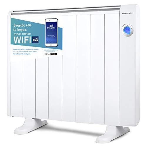 Orbegozo RRW 1500 - Emisor térmico bajo consumo Wi-Fi, 1500 W, pantalla digital LCD, programable, conexión...
