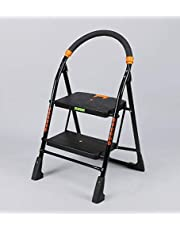 FLIPZON Premium Heavy Foldable Cameo 2 Steps Ladder