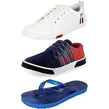 Jabra Perfect Combo of Sneaker Shoes & Slipper for Men