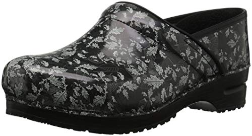 Sanita Women's Pro. Fantasia Clog, Black, 36 M EU (5.5-6 US) Sanita Professional Clogs