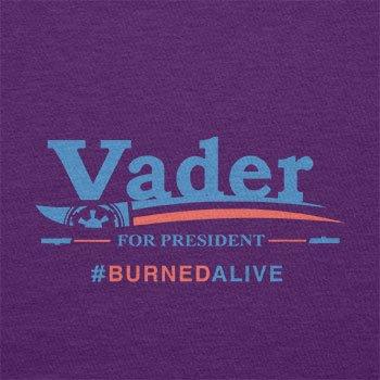 TEXLAB - Vader for President - Herren T-Shirt Violett
