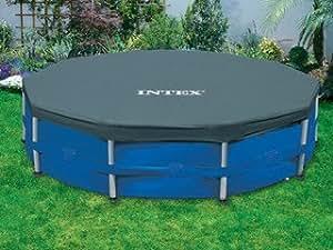 Couverture INTEX piscine hors-sol ronde Ø 3.66m Intex 28031