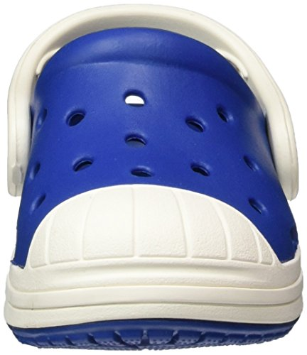 crocs Bump It Clog Kids, Unisex - Kinder Clogs, Blau (Blue Jean/Oyster), 24/25 EU