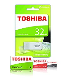 Toshibha USB Flash Memory 32 GB(White)