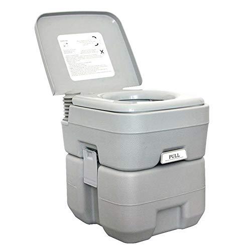 NOBLJX 20L Tragbare Toilette, Mobile Outdoor Camping Griff 2 Sprühdüse WC, Wandern Hygiene Sanitäranlagen für Caravan Travel Camp Bootfahren Angeln