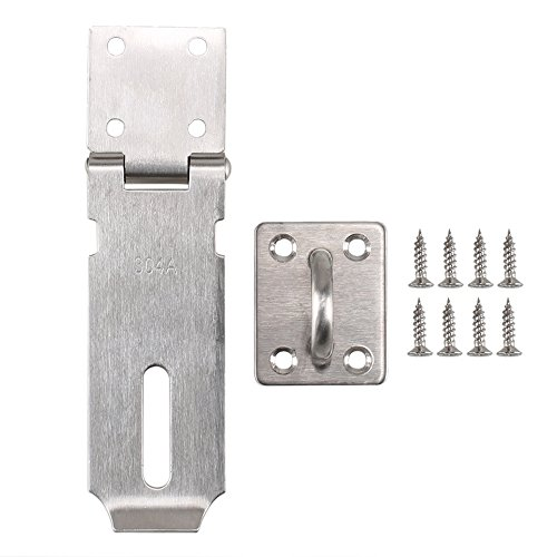 "ETSAMOR 4.3"" Padlock Hasp Heavy Duty 304A Stainless for sale  Delivered anywhere in UK"