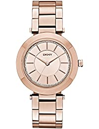 DKNY Damen-Armbanduhr Analog Quarz Edelstahl NY2287
