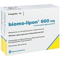 Preisvergleich für Biomo Lipon 600 mg Ampullen 10 stk