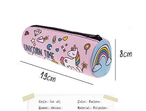 Tesan-Ressort-de-trousse-Pouch-Trousse-de-Papeterie-3D-Imprimes-Crayon-Trousse-de-maquillage-Tool-Bag-Unicorn