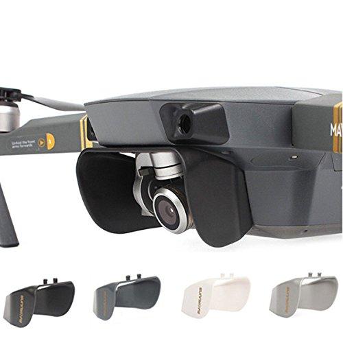 KINGDUO Kameralinse Sonnenschirm Schutzhülle Für DJI Mavic Pro/Platinum-Schwarz