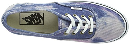 Vans U Authentic Platform (Acid Denim) Bl, Sneaker a Collo Basso Unisex – Adulto Blu (Blau ((Acid Denim) bl / 7FJ))