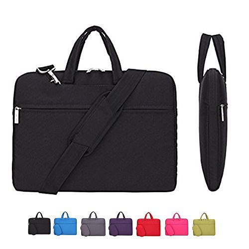 Laptop-Hülle, Laptop-Umhängetasche, cromi Simplicity Slim Aktentasche Umhängetasche COMMUTER Tasche Business Sleeve mit Griff Tasche Nylon Wasserdicht Notebook Messenger Tasche (Kors Laptop Cover Michael)