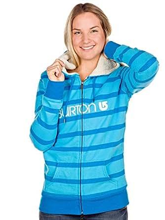 Damen Kapuzenjacke Burton Her Logo Sherpa Zip Hood Women