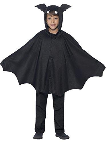 Süsse Fledermaus Halloween Kinderkostüm schwarz 134/146 (9-11 Jahre)