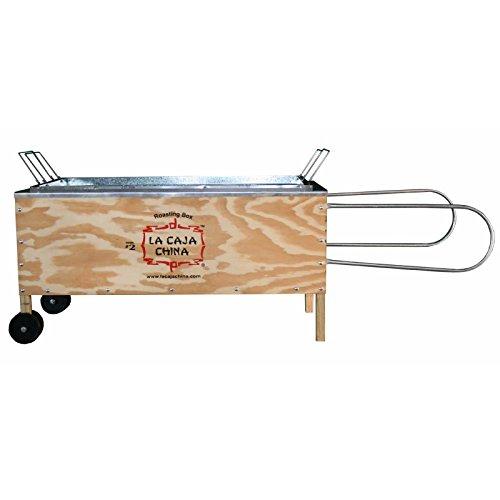 La Caja China Kistensau #2 Roasting Box Kiste Schwein BBQ Grill