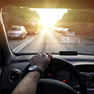 Auto HUD Head Up Display, AUTOOL 12V KFZ Head Up Display KM/H MPH