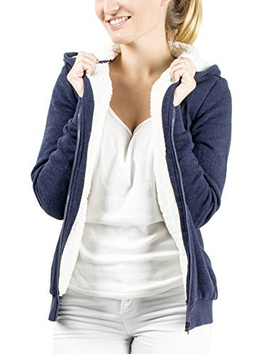 new style 98472 9878c Damen Hoodie Kapuzenpullover Pullover Jacke Sweatjacke ...
