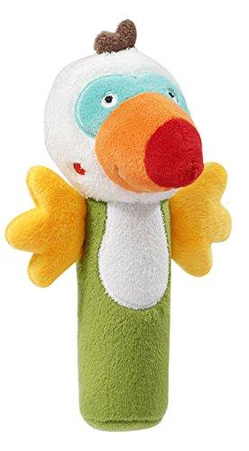 BabySun Calin Hochet Forme Toucan Multicolore