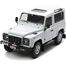 Maisto MoMo Land Rover SUV1: 18 Aleación de simulación Guardian 90 Colección de Modelos de