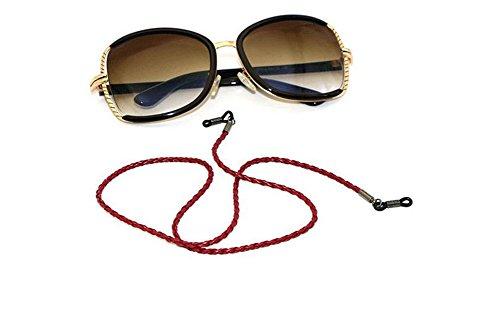 Hacoly PU Brillenband Kordel Brillenketten für Damen Kinder Brillen Seil Accessoire Schnur Kordel...