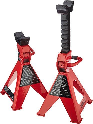 AmazonBasics - Gatos estabilizadores, de acero, Capacidad de 3 toneladas - 1 par