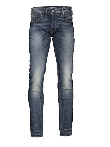 Blend Herren Skinny Jeans Jet Denim Dark Blue (76207)